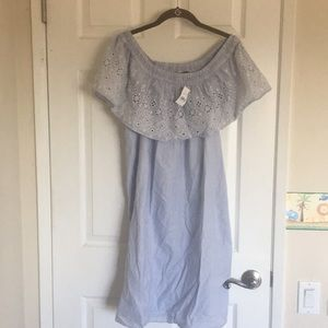 Loft Off the Shoulder Dress